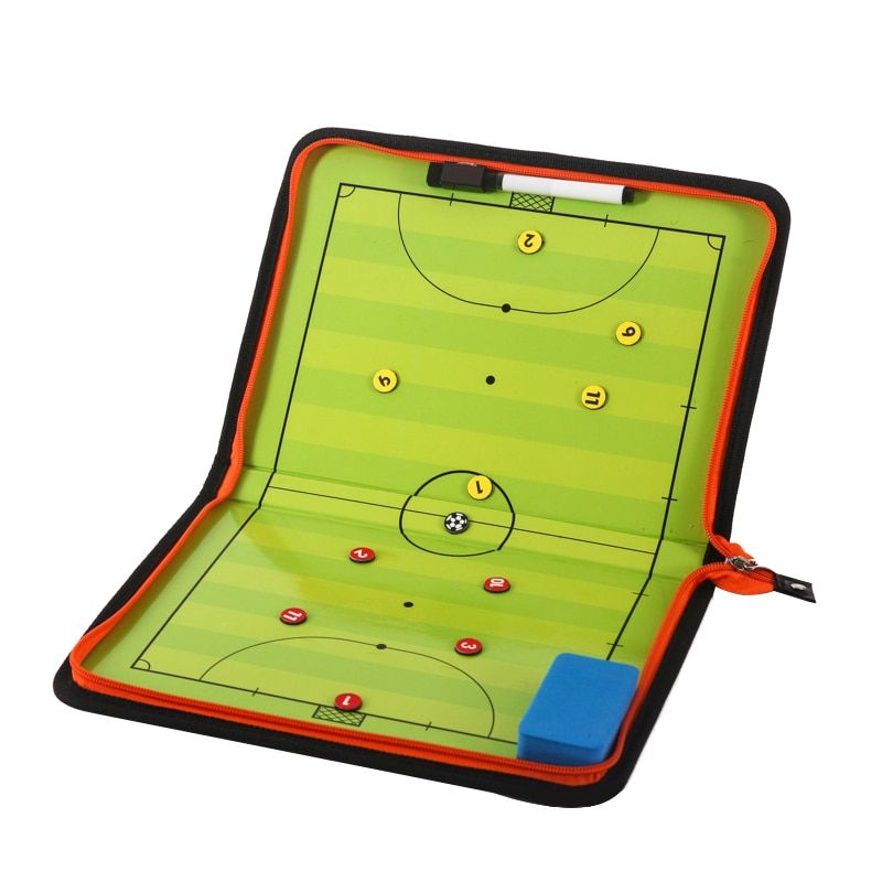 Find More Soccers Information About Zipper Futsal Magnetic Tactic Board Football Tactical Board Soccer Futsal Ball Game Portable Football Coach Football Coach