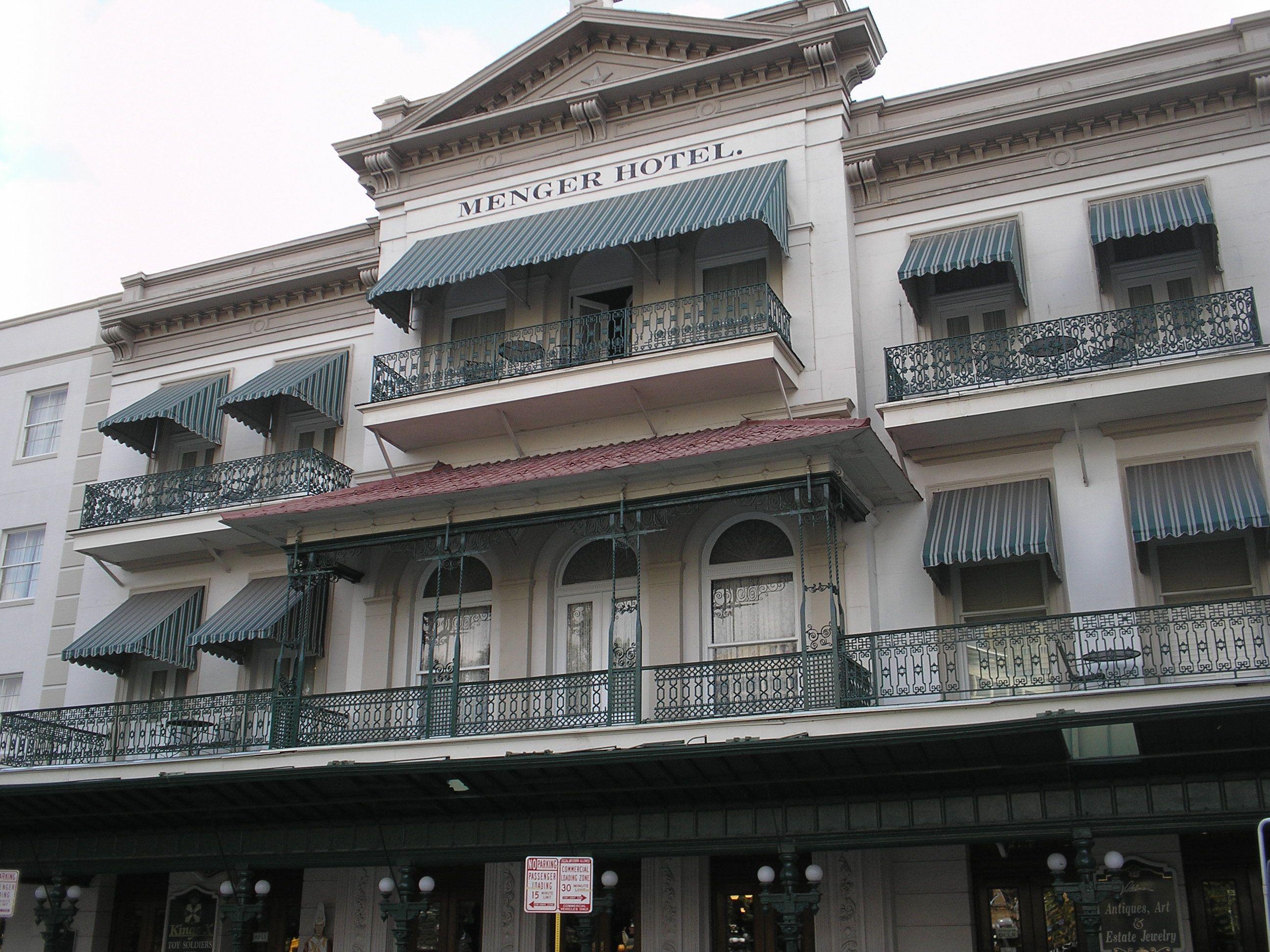 Menger Hotel San Antonio Texas Teddy Roosevelt Who Recruited Cowboys Fresh Off