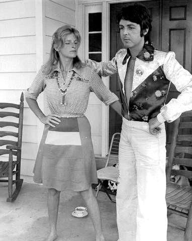 Rare Beatles. Linda & Paul, 1970's
