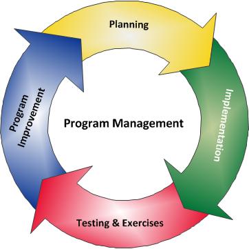 Program Management Cycle Diagram Program Management