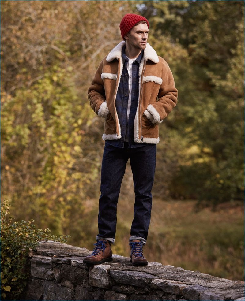 Layer It On East Dane Proposes Rugged Fall Style Winter