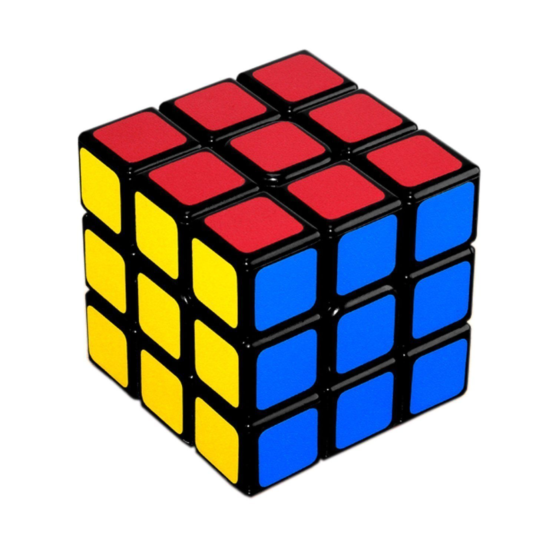 Lora&Chat 3X3 Rubiks Cube De Vitesse Magique Classique Professionnel 60Mm