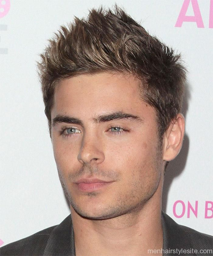 Zac Efron Spiky Hair Haircut Hairstyle 2014 Men Hairstyles 2014 Zac Efron Hair Hair Styles 2014 Short Hair Styles