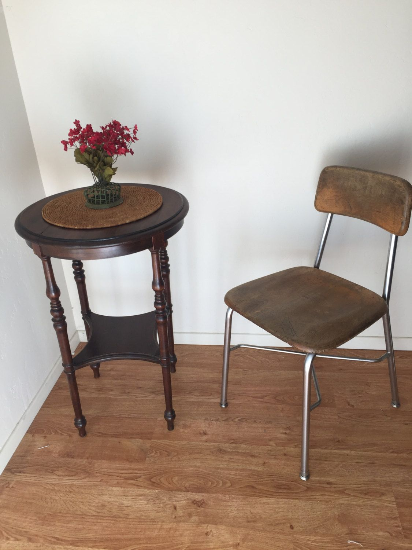 Vintage Primary School Chair by VulcanMinerva on Etsy