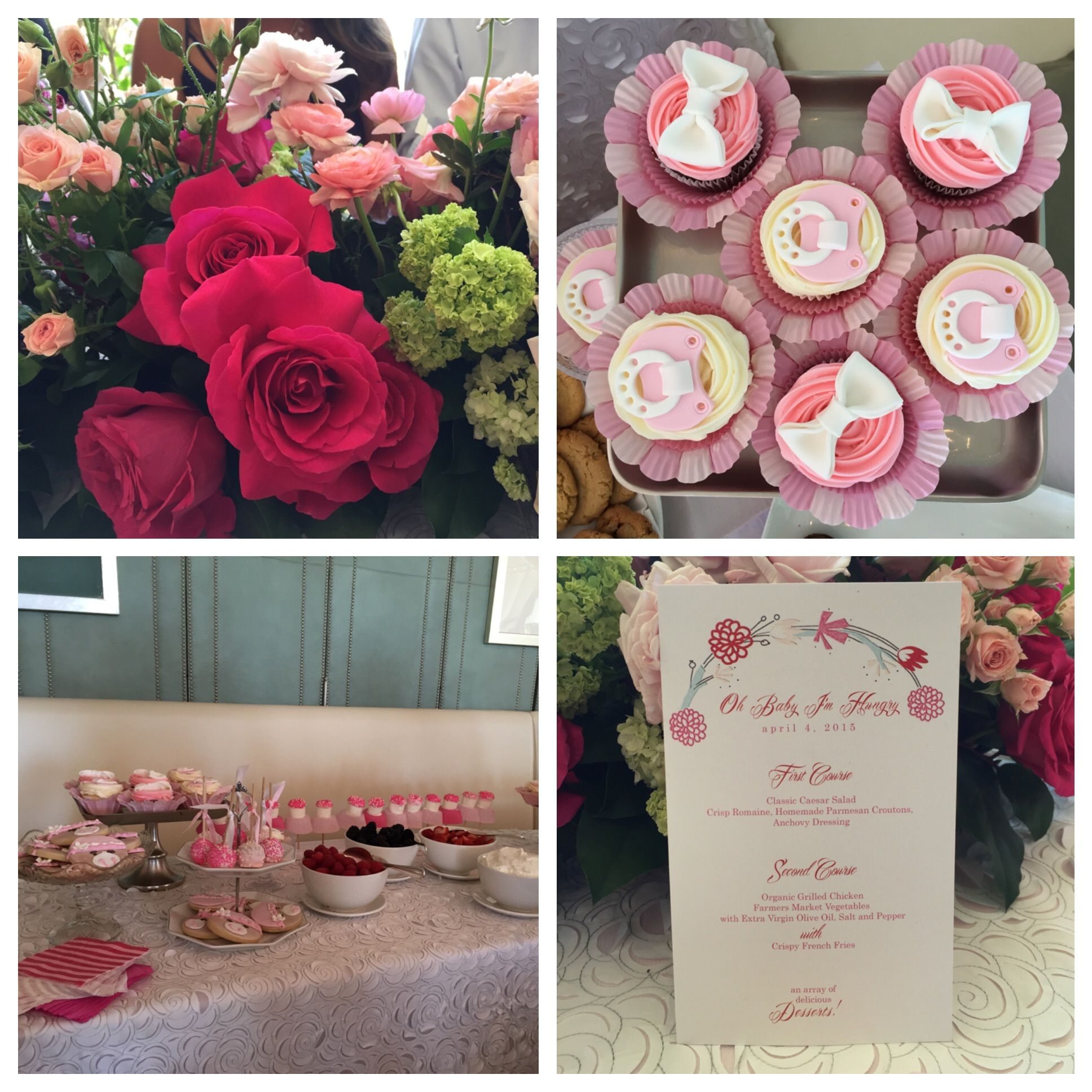 Pretty In Pink Baby Shower Goodies At Tamera Mowry Housley Baby