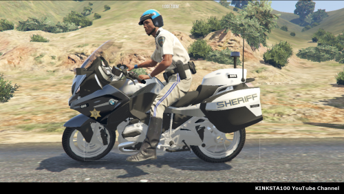 Gta 5 Sheriff BMW R 1200RT ELS V I made this because of the