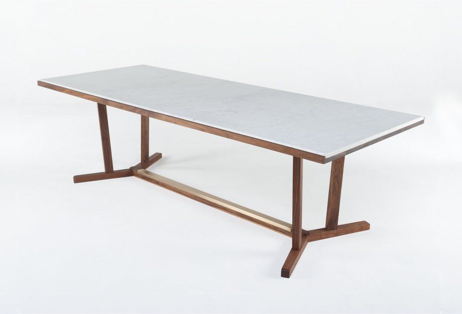 Shaker Dining Table Chair By Neri Hu And De La Espada Dining Table Chairs Marble Dining Dining Table