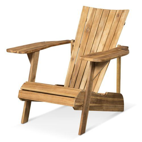 Astounding Sol 72 Outdoor Ridge Wood Adirondack Chair In 2019 Machost Co Dining Chair Design Ideas Machostcouk