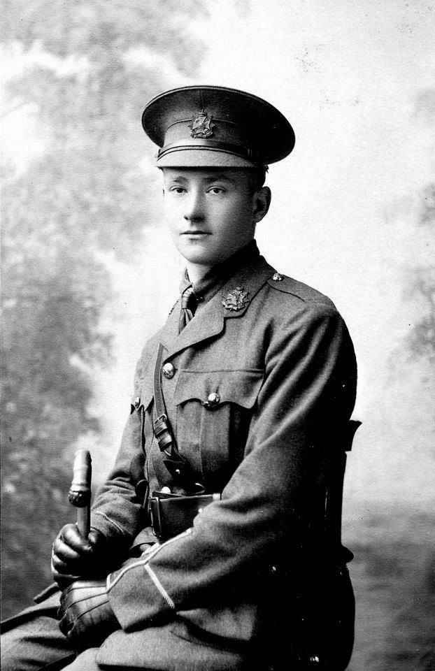 Sec-Lieut. Nicholas Adolf Krohn 2nd Bn, Border Regiment. (7.8.1895 16.5.1915) Enlisted in the Artists Rifles (28th London Regiment) 6.8.1914. The Artists Rifles arrived in Northern France at the end of 10 1914. Received his commission as Sec-Lieut. 20.3.1915. KIA less than two months later during the Battle of Festubert 16.5.1915. Along with many others of the 2nd Bn Border Regiment who died during the battle, his name is commemorated on the Le Touret Memorial. Panels -> 19 and 20.