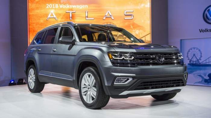 2018 Vw Atlas Release Date Review Mpg Volkswagen Suv Suv Reviews