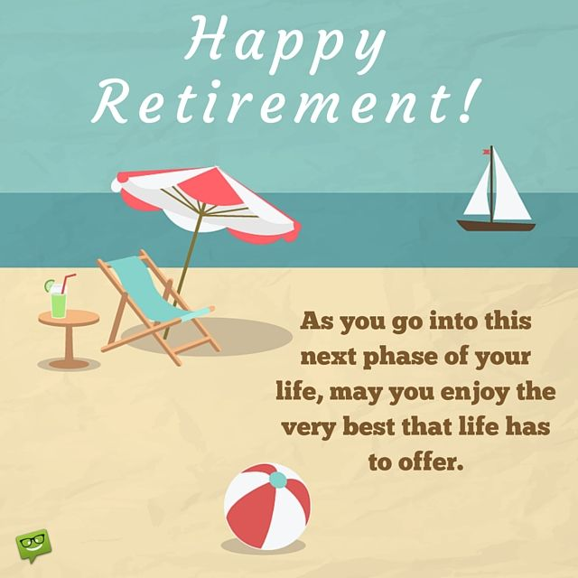 Quote For Retirement Wishes: Happy Retirement Wishes
