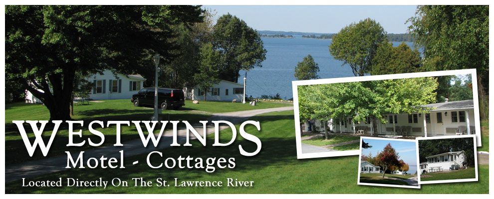 1000 Islands Clayton Ny Westwinds Motel Waterfront Cottages Located On The St