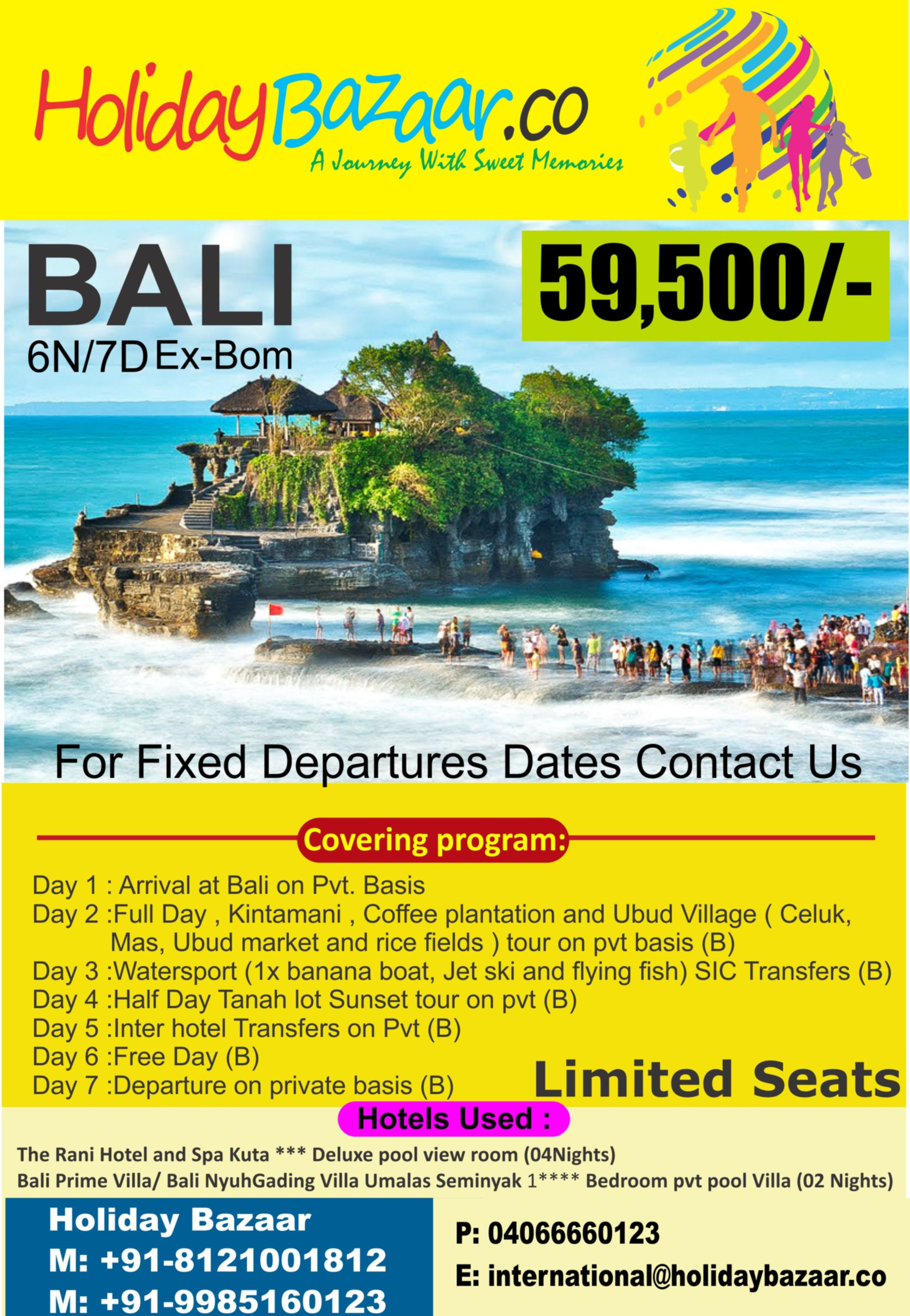 Enjoy Your Tour With Beautiful Bali Package From Holiday Bazaar Book Your Package Now For Best Prices And Ser Bali Packages Travel Package Deals Tour Packages
