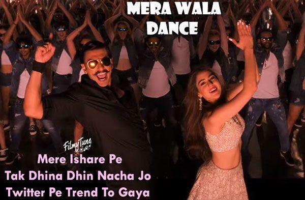 Mera Wala Dance Lyrics - Simmba | Latest bollywood songs