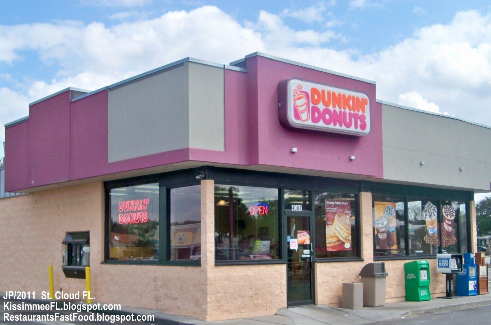 DUNKIN DONUT SHOP PICTURES DUNKIN DONUTS SAINT CLOUD FLORIDA - Dunkin donuts location map usa