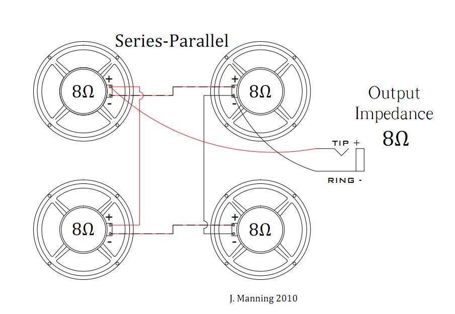 Speaker Parallel Wiring の画像検索結果 Parallel Wiring Series Parallel Diagram