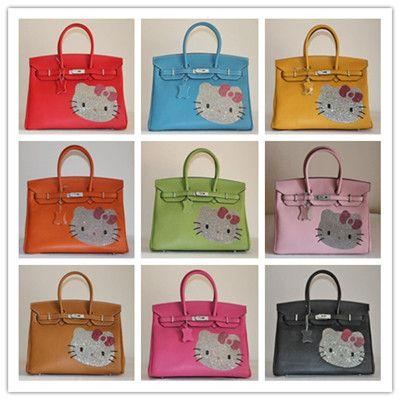 d38ae71f618 Hermes Rhinestone Hello Kitty 35cm Birkin Bag | Favorite Handbag ...