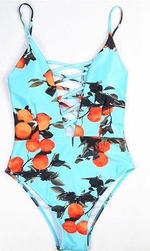 7d44345ecf23 Traje de Baño Vintage de Una PIeza | traje baño | Trajes de baño ...