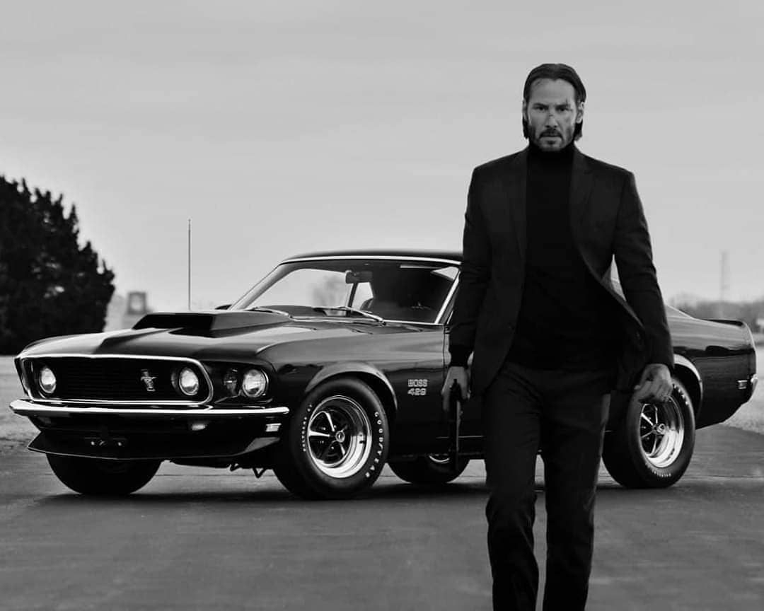 373 Likes 2 Comments Mustang Owners Club Mustang Klaus On Instagram You All Know Johnwick Loves H Mustang Fastback Muscle Cars Mustang Famous Vehicles