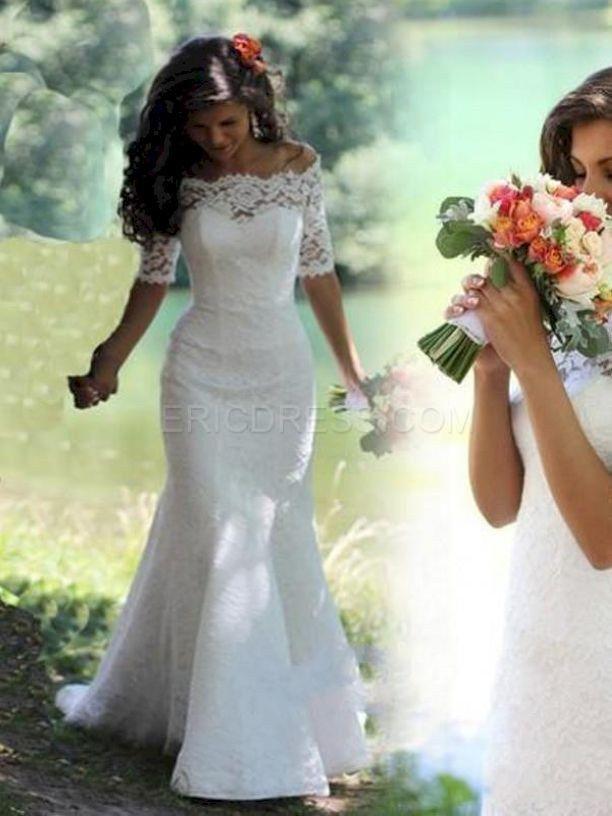 Gorgeous Vow Renewal Dress Country Wedding Ideas 33 Wedding