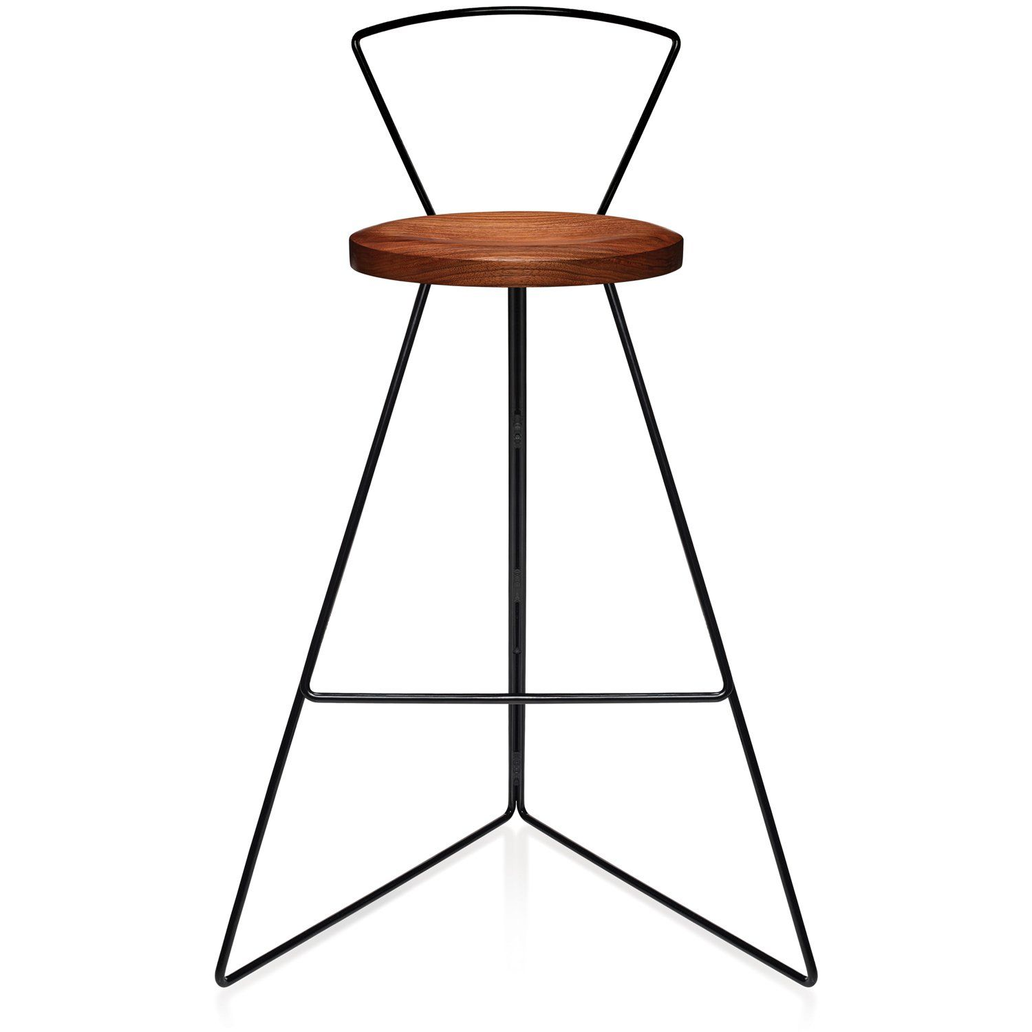 The Coleman Stool With Backrest Walnut In 2020 Furniture Design Modern Furniture Decor Stool