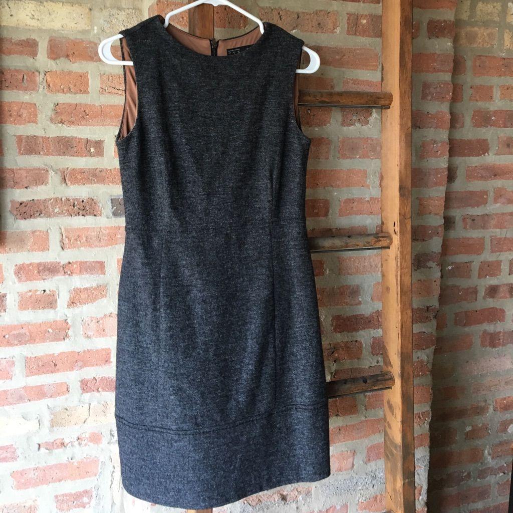Zara Basics Gray Shift Dress - L - Great Condition