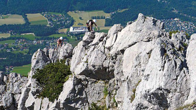 Klettersteig Katrin : Klettersteige salzkammergut