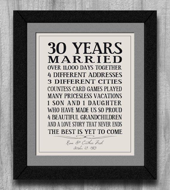 anniversary gift, Wedding Anniversary Family Art Print wedding print