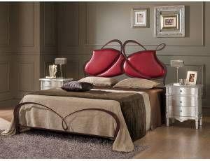 Apollo letto in ferro battuto letto matrimoniale in - Testiera letto ferro ...