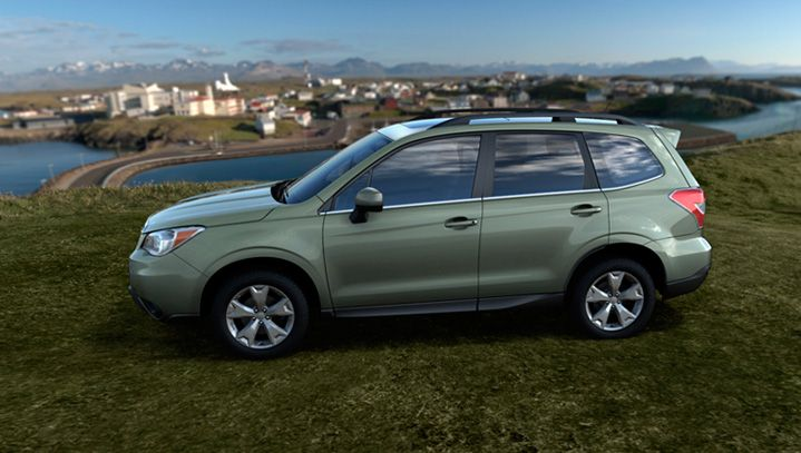 Colors Subaru Forester All New 2017 Suv Overview Official Site Jasmine Green Metallic