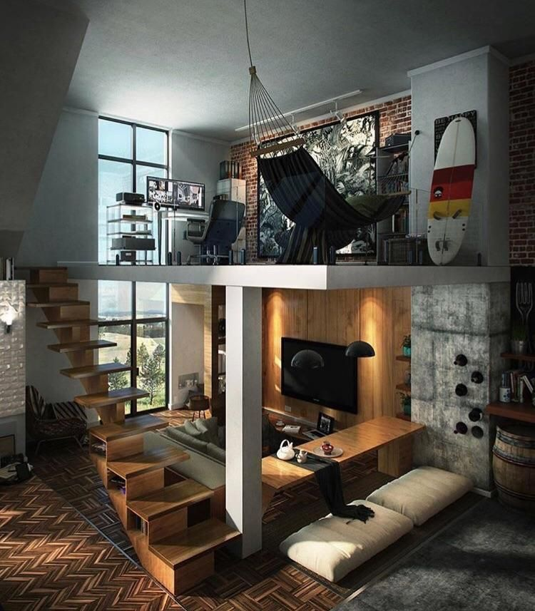 Male Living Space Home Pinterest Living spaces, Spaces and