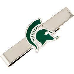 Cufflinks Inc. Michigan State Spartans Tie Bar
