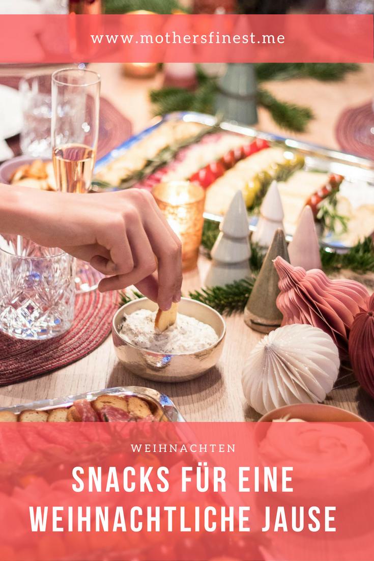 Snacks für eine weihnachtliche Jause | Advent und Weihnachten ...