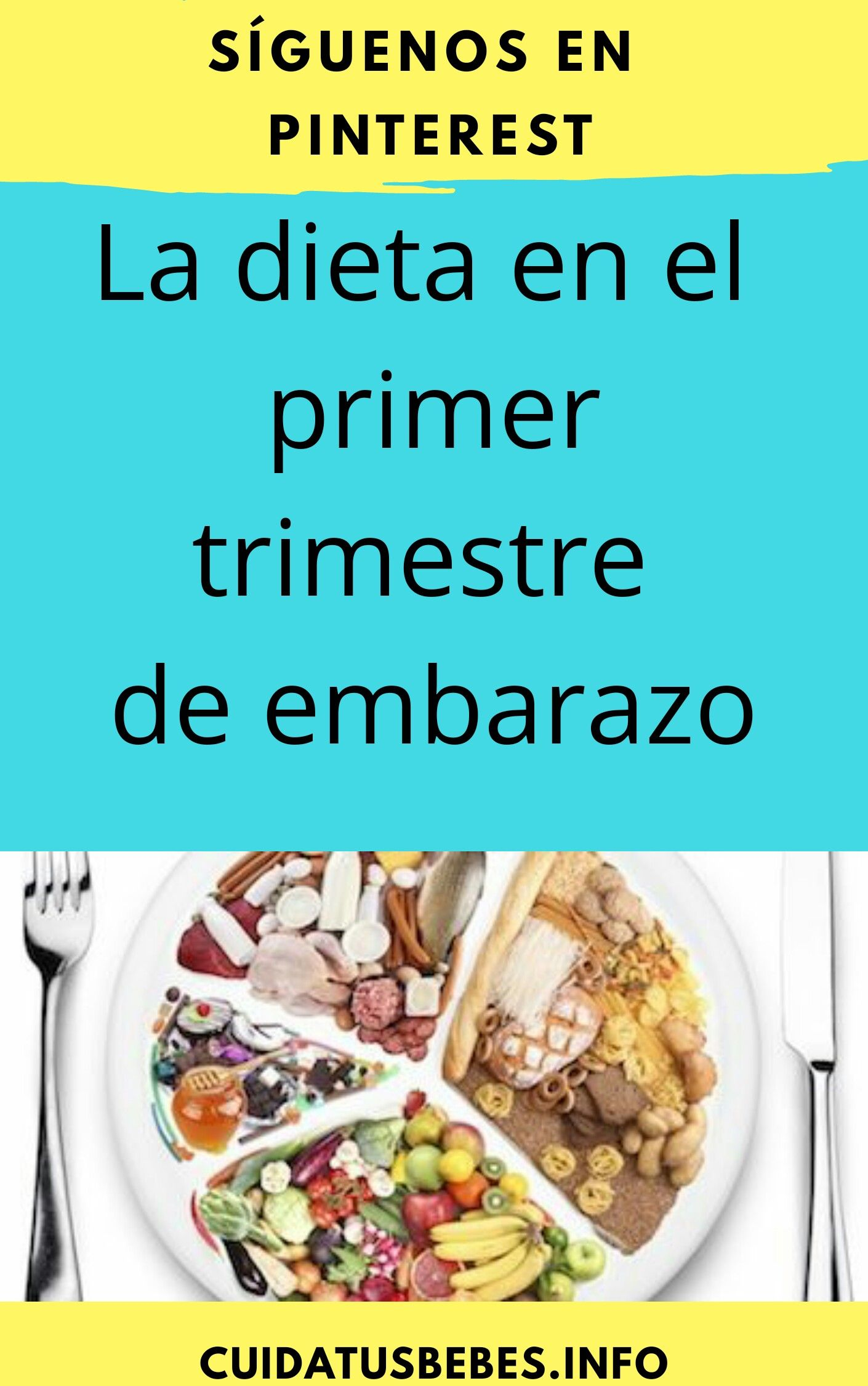 Dieta para el embarazo primer trimestre