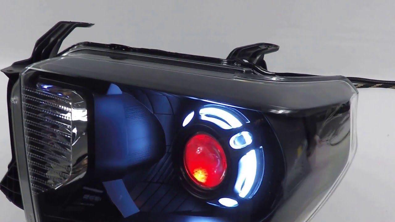 2016 toyota tundra custom headlights morimoto fxr demon eyes youtube