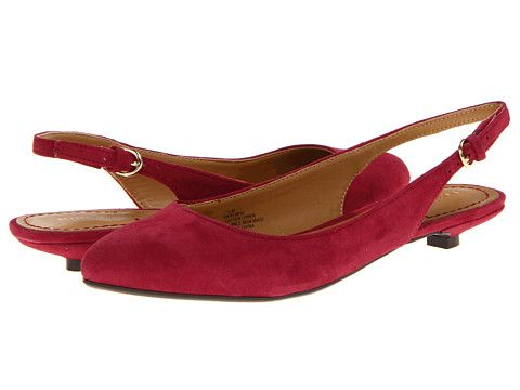 Nine West Remhie Dark Red Suede Red Kitten Heel Kitten Heel Shoes Red Suede Red Kitten Heels