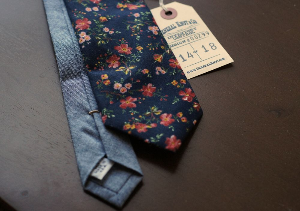 General Knot & Co. - Floral Neckties