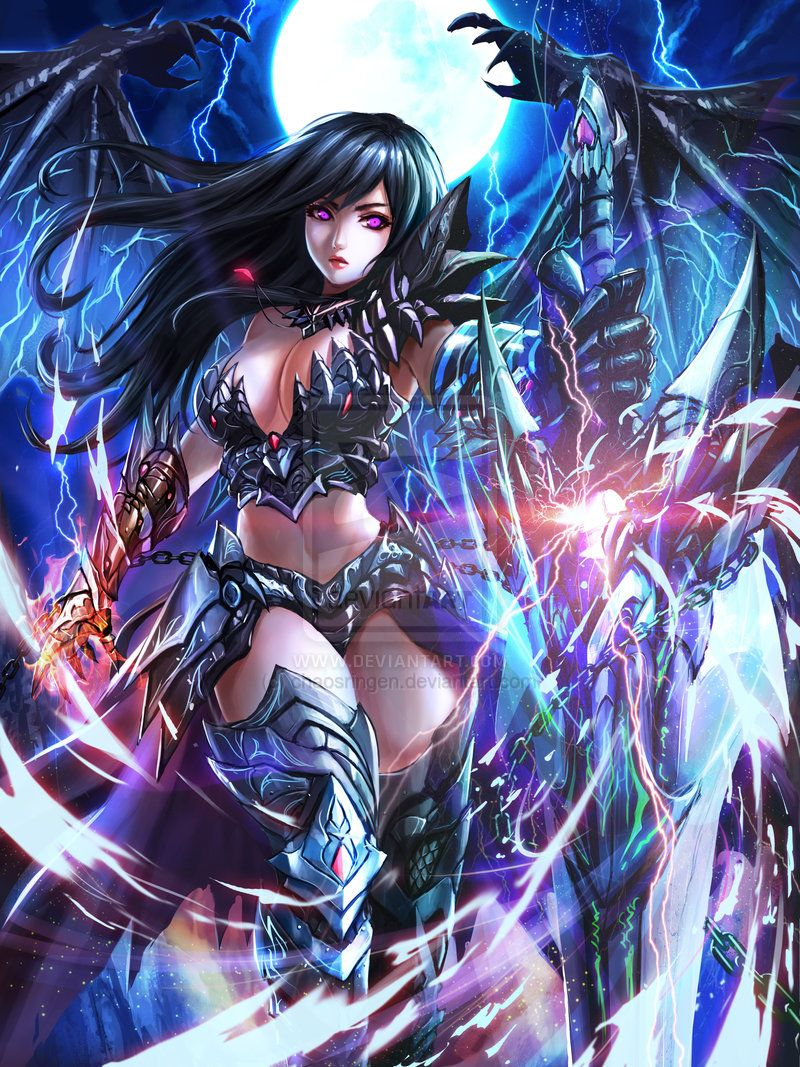 Demon Slayer - enhanced version by chaosringen.deviantart.com on @deviantART