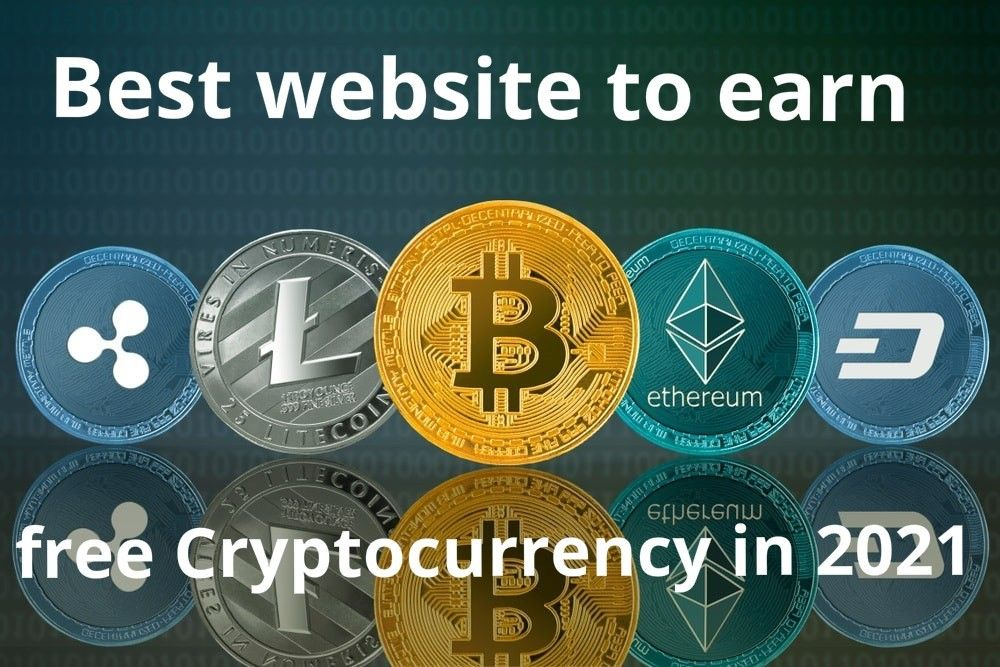 Best Website To Earn Free Cryptocurrency In 2021 In 2021 Cloud Mining Mining Site Bitcoin Mining