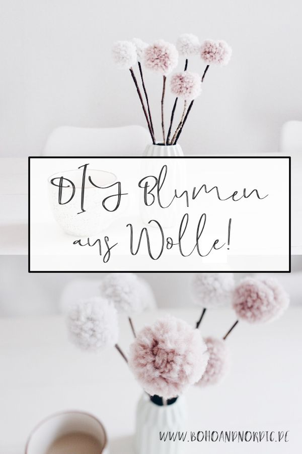 blumen aus pompons, pom pom blumen - tischdekoration mal anders | diy home | pinterest, Design ideen