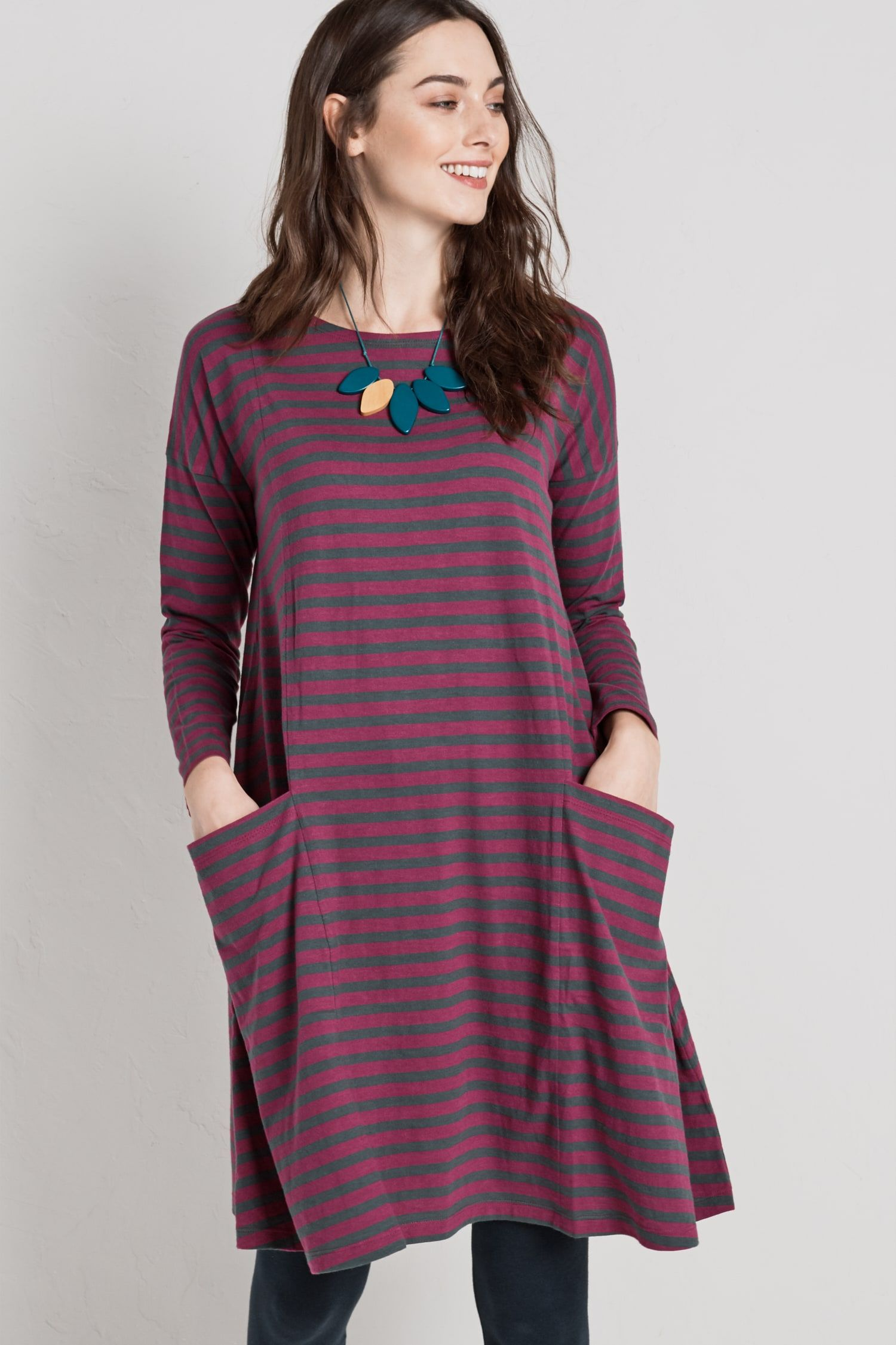 86a70802f4e2 Ladies  cotton swing dress in a choice of unique Seasalt prints. The Mill  Pool