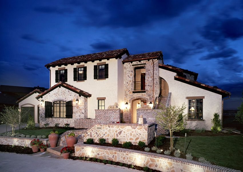 Mediterranean house brick and stone google search for Mediterranean stone houses