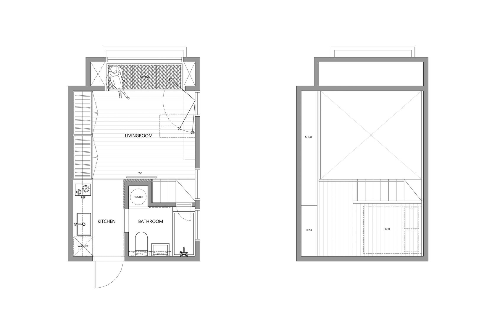 Architectural Drawings: 10 Clever Plans for Tiny ...