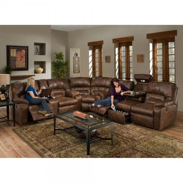 Dakota Living Room Sofa Loveseat Amp Wedge Sectional Rustic 59639 Sectional Sofas Brown Living Room Decor Brown Living Room Reclining Sectional