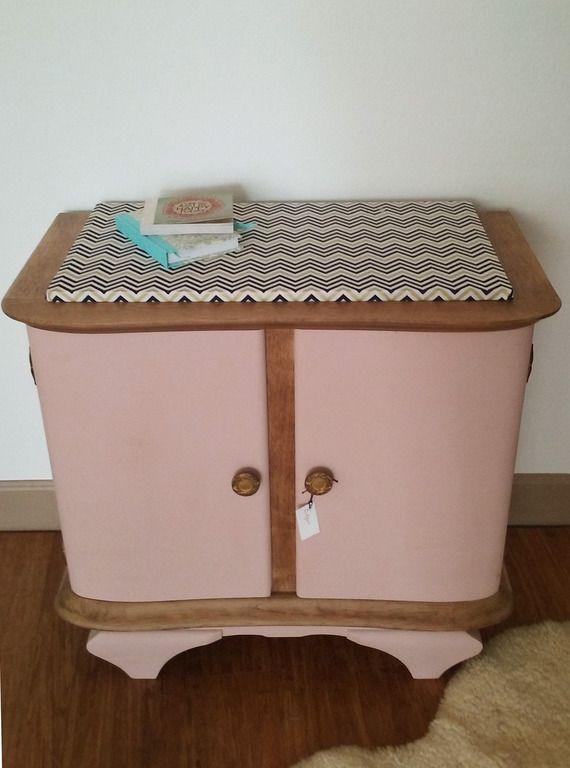 meuble de chevet vintage r nov et relook edgar meubles. Black Bedroom Furniture Sets. Home Design Ideas
