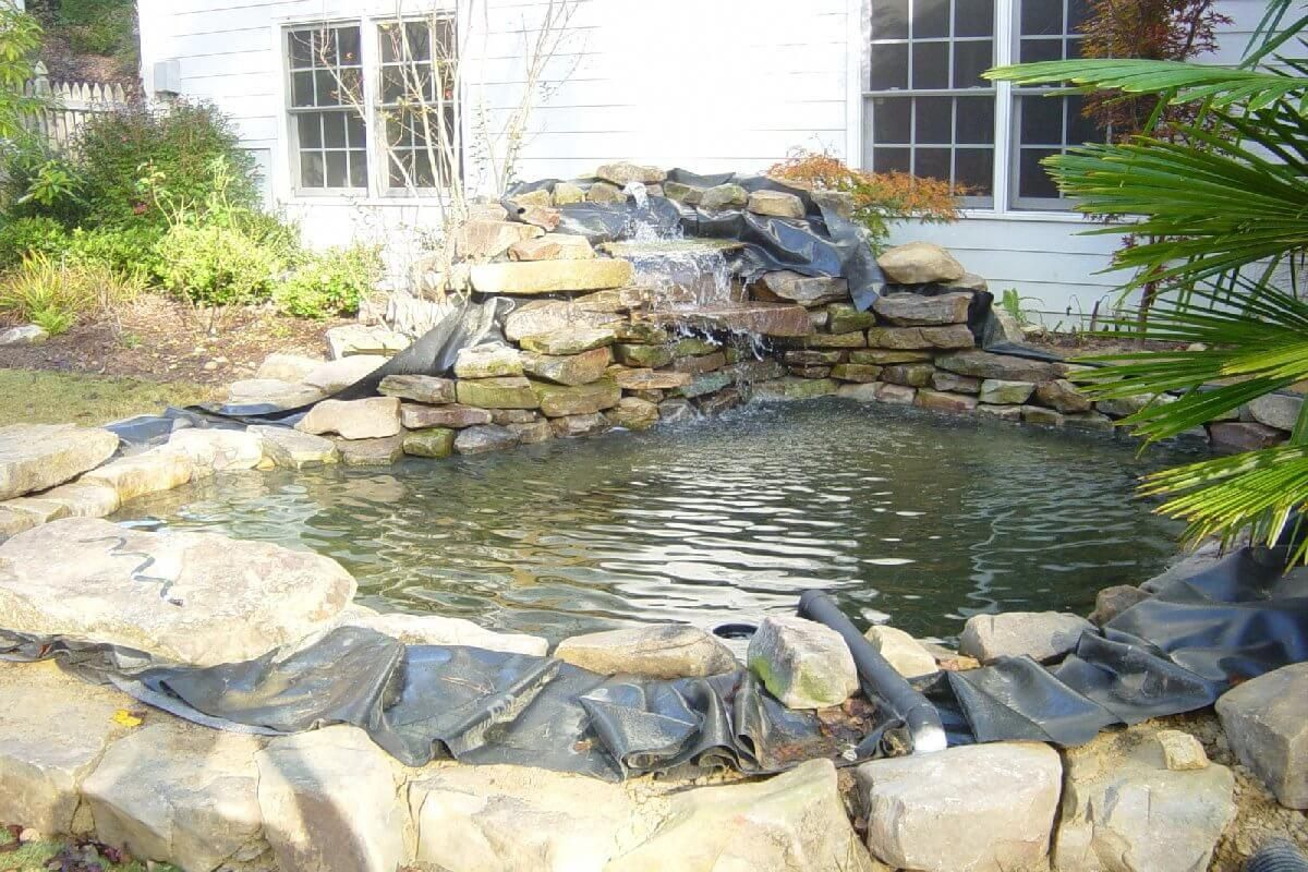 How to build a koi pond in your backyard can be just easy