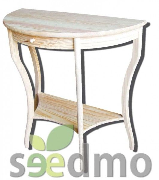 Muebles decoraci n entrada media luna low cost compra for Muebles low cost online