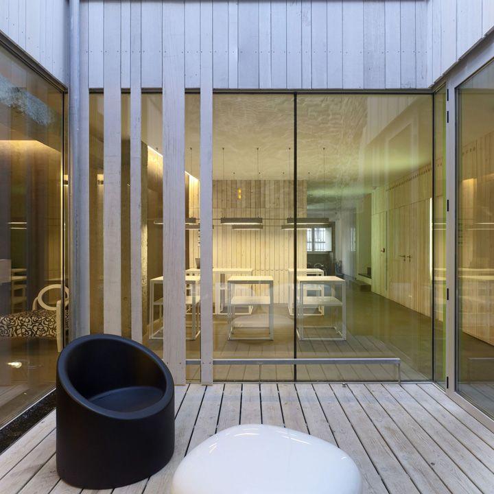 Rehabilitation Hotel Moure by Abalo Alonso Arquitectos, Santiago de Compostela – Spain » Retail Design Blog