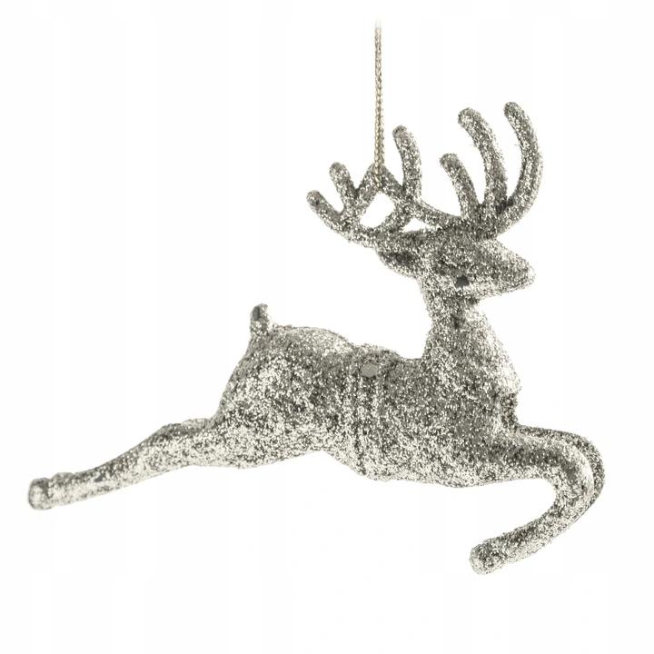 Bombki Na Choinke Ozdoby Choinkowe Renifer Srebrne 9846847366 Allegro Pl Moose Art Art Animals