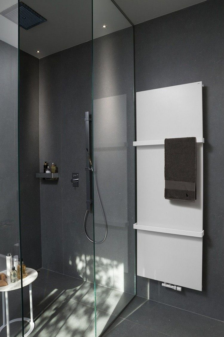 Radiateur électrique design- 50 idées salle de bains et salon ...